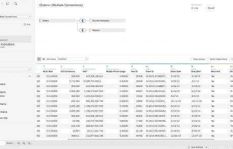 Tableau Cross Database Joins