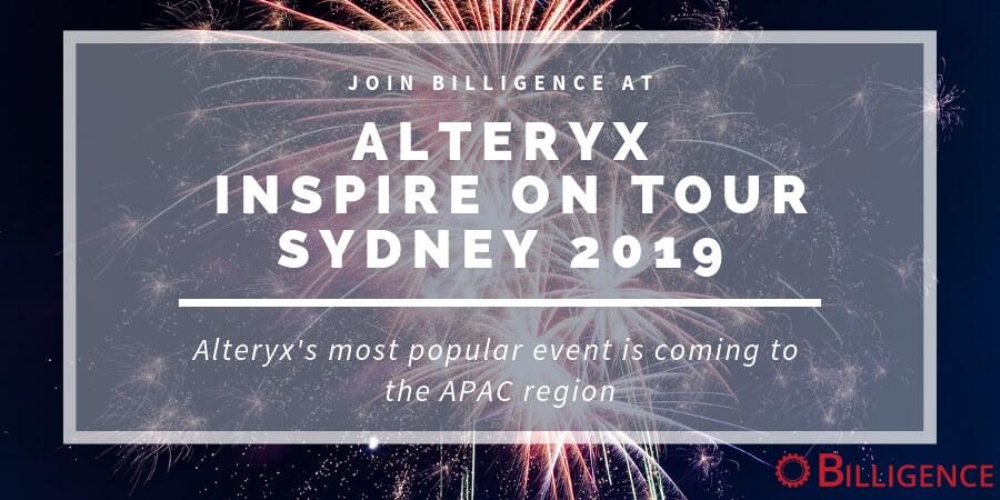 Alteryx Inspire Sydney 2019
