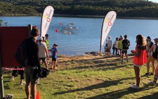 Go Series Mini Triathlon Manly Dam