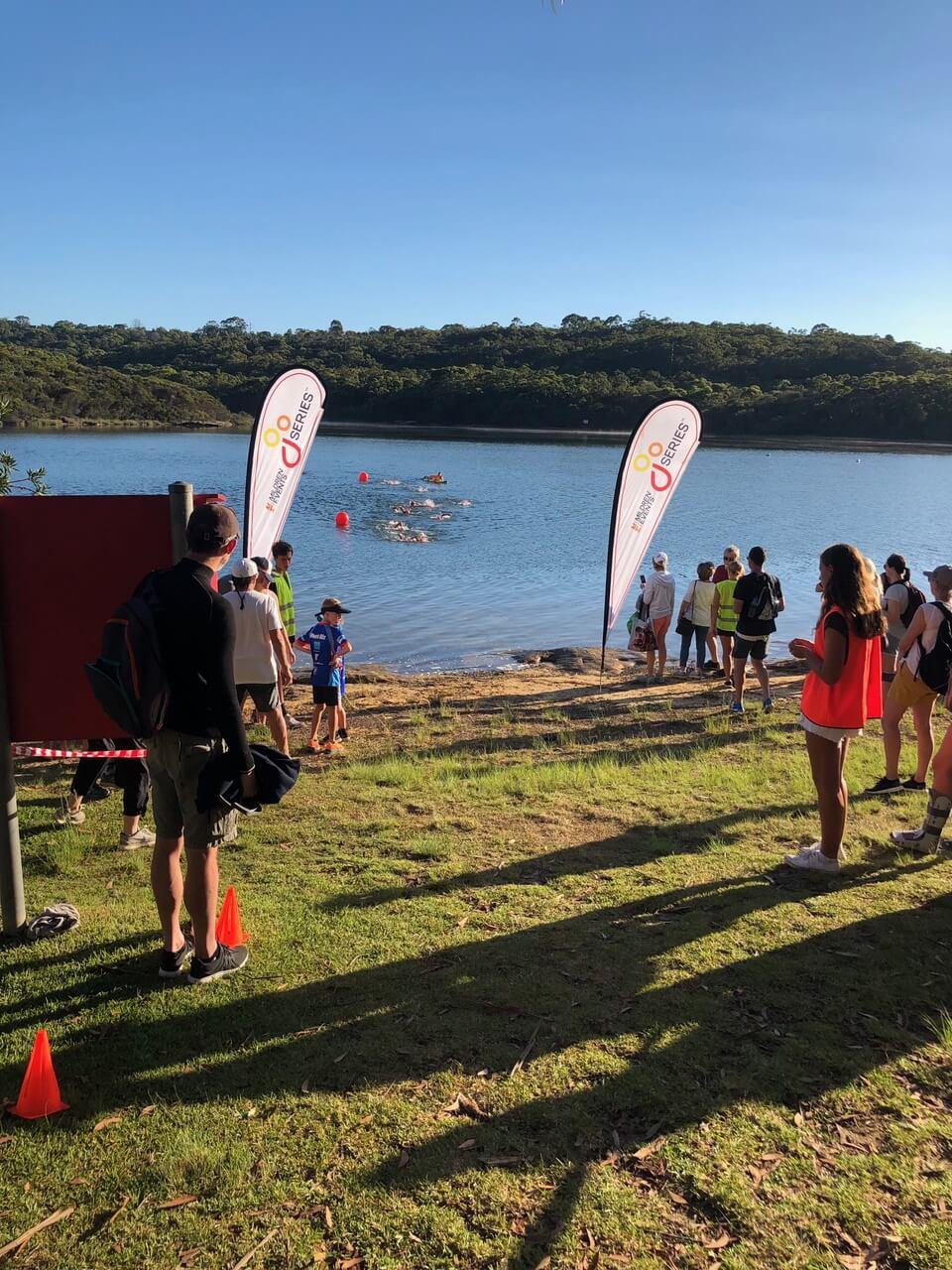 Go Series Mini Triathlon Manly Dam