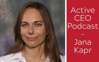 Active CEO Podcast Jana Kapr Blog Banner