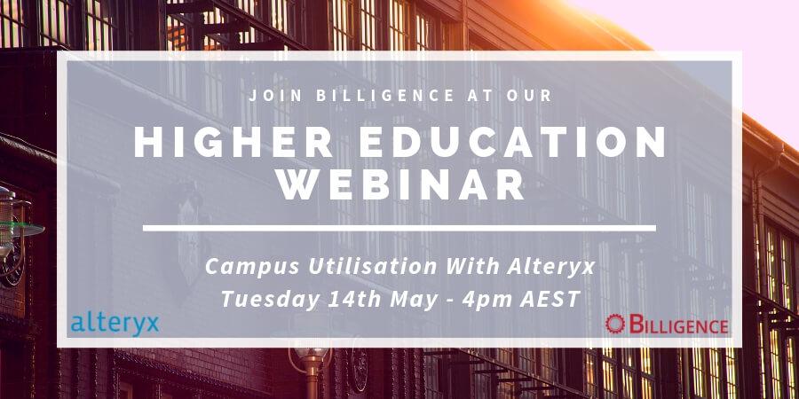 Higher Education Webinar - Alteryx