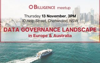 Billigence Data Governance Event Banner - Sydney