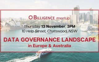 Billigence Data Governance event - Sydney