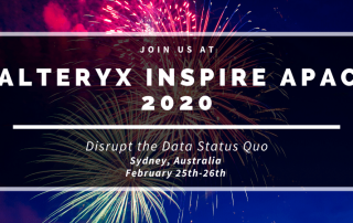 Alteryx Inspire APAC 2020 Blog Banner