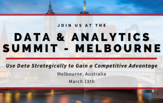 Data & Analytics Summit Melbourne 2020 Blog Banner