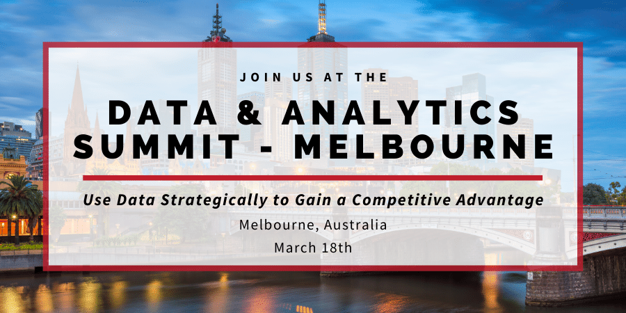 Data & Analytics Summit Melbourne 2020 Blog Banner