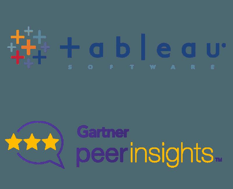 Tableau Software- Gartner Peer Insights Logo