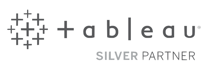 Tableau Silver Partner Solutions Logo Large
