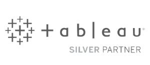 Tableau Silver Partner Solutions Logo Billigence