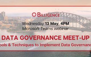 Data Governance Virtual Webinar 13.05.20 Banner