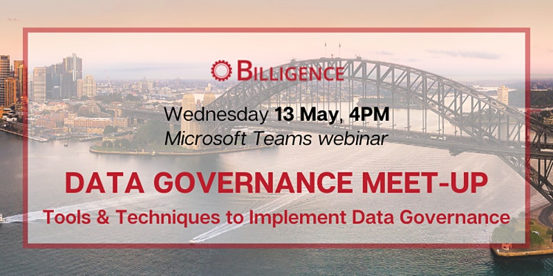 Data Governance Virtual Webinar 13.05.20 Banner