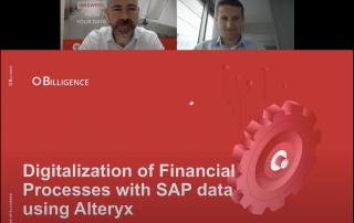Alteryx Webinar Digitisation of Financial Processes banner