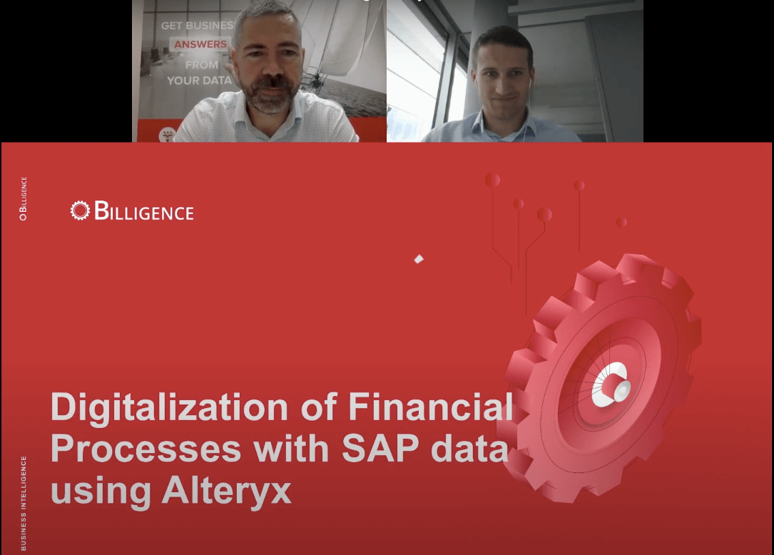 Alteryx Webinar Digitisation of Financial Processes banner
