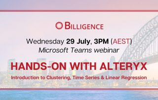 Hands on with Alteryx Webinar Image