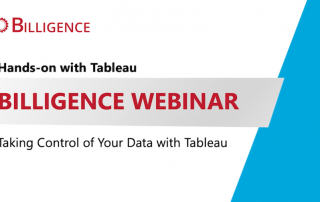 Taking Control of your Data Tableau Webinar