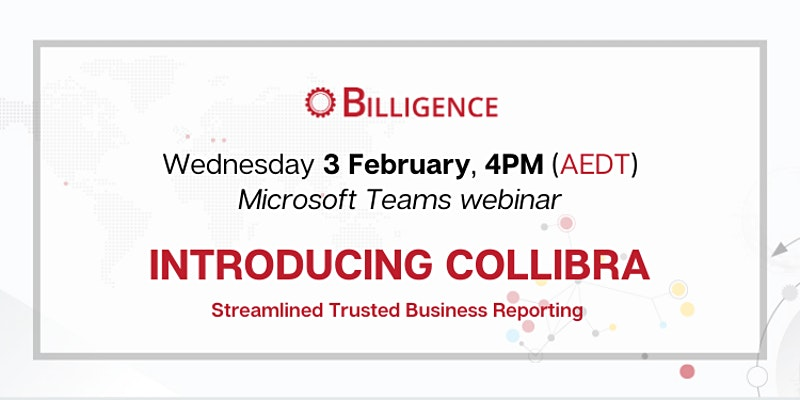 Introducing Collibra Webinar Banner