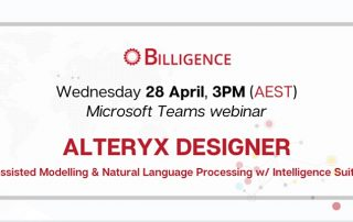 Alteryx Webinar Q2 2021 Aus+Other