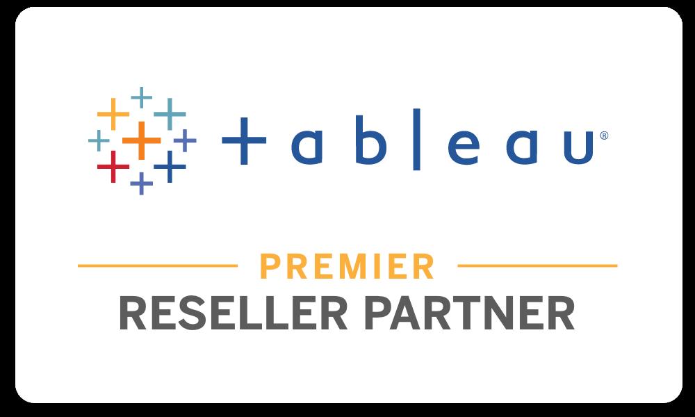 Tableau Premier Reseller Partner