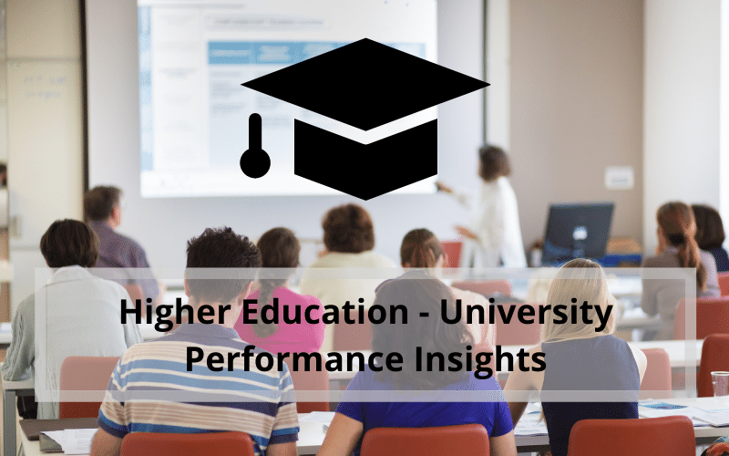 Higher Education - University Performance Insights Tableau Case Study Billigence