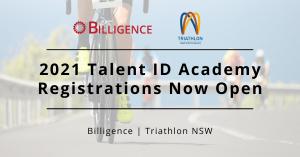Billigence 2021 Talent ID Triathlon
